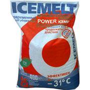 Противогололедный материал ICEMELT POWER Айсмелт Power уп.25кг. до -31С фото