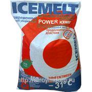 Антигололедный реагент «ICEMELT POWER» 25кг фото
