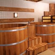 Японская баня офуро фото