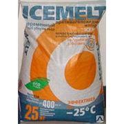 Противогололедный материал Айсмелт (25 кг) фото
