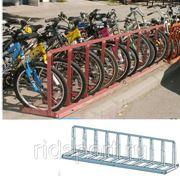 Парковка для велосипедa массовая H-42 фото