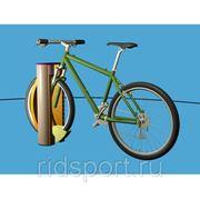 Велопарковка с электронным замком фото