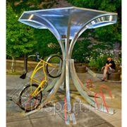 Велопарковка крытая H-18 фото
