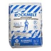 """Rockmelt Salt - """"Рокмелт Солт"""" - Профессиональное антигололедное средство Мешок 25 кг фото"""