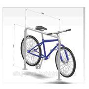 Парковка для 2-х велосипедов фото