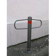 Велосипедная парковка-столб фото