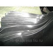 Резина листовая марки Но-68-1 размер 300х300х0,5 мм по ТУ 381051959-90 фото