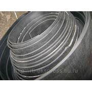 Техпластина тепломорозокислотощелочестойкая резиновая в рулонах ширина 1100 мм, толщина 8 мм фото