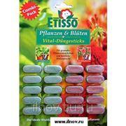 Удобрения-палочки ETISSO 20 шт для цветов и зелёных растений фото