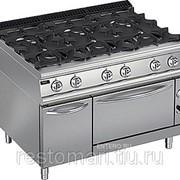 Плита газовая Apach Chef Line LRG127FGCS PLUS фото