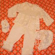 Костюмы для малыша вязаные фото