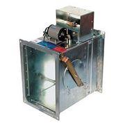 Клапан противопожарный КЛОП 2 (60/90/120мин) с электромагнитным приводом и тепловым замком фото
