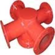 Подставка пожарная крестовая фланцевая ППКФ. фото