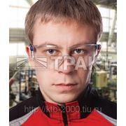 Очки защитные ОП-ТЕМА, прозрачные линзы с покрытием от царапин фото