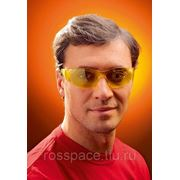 Очки открытые ПОУКЛЮКС, арт.60556, (SACLA), желтый фото