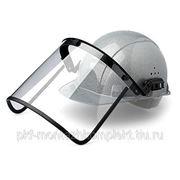 Щиток защитный для сварщиков с креплением на каске фото