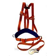 Удерживающая спасательная привязь УПС II Д + строп А (ПП II АД) строп лента фото