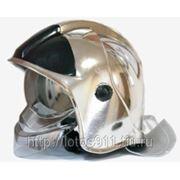 Шлем-каска ШКПС белый/черный/красный/серебро/золото фото