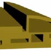 Дверная телескопическая коробка из древесно-полимерного композита (ДПК). Есть окутанные и неокутанные варианты. фото