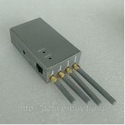 Подавитель сигнала переносной GSM/CDMA/DCS/PCS/3G фото