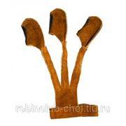 Напальчник традиционный легкий (замша) фото