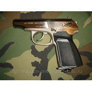 Пистолет пневматический Макаров МР- 654К никель
