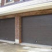 Автоматические гаражные ворота фото