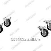 Комплект колес D-100 мм для шкафа FC.27. 2 02.А100 фото