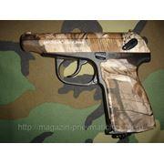 Пистолет пневматический Макаров МР- 654К Камуфляж фото