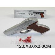 """Пистолет 007A-1 (A812450) """"Omega"""" пульки,в пакете 12*8*2см фото"""