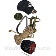Противогаз шланговый Бриз-0326(ПШ-20ЭРВ) шланг АМС, маска ШМП фото