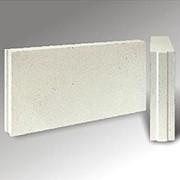 Блок силикатный стеновой пористый межкомнатный рядовой фото