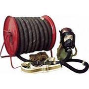 Противогаз шланговый Бриз-03211(ПШ-40РВ) шланг резинотканевый, маска ППМ-88 фото