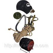 Противогаз шланговый Бриз-0327ПШ-40ЭРВ) шланг резинотканевый, маска ШМП фото