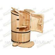 Кедровая бочка Круглая сибирская со скосом фото