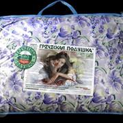 Подушка из гречихи БИО-М2 фото
