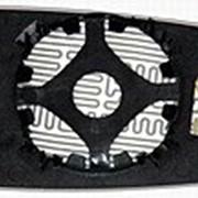Элемент зеркальный левый асферический с обогревом SEAT Arosa 97- L.Asf.Crom.12V фото