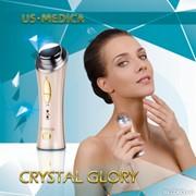 Ультразвуковой прибор с гальваникой для лица Crystalglory фото