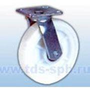 Поворотные, платформенное крепление: Колеса для тележек полиамидный контактный слой фото