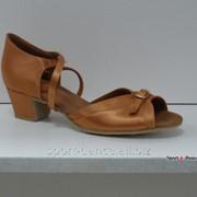 Туфли для бальных танцев Dancemaster мод.163 каблук 3 см фото