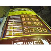 Электронные ценники для АЗС фото