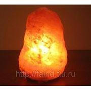 Wonder Life Солевая лампа «Скала-ТЕХНО» 2-3 кг. фото
