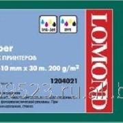 Глянцевая бумага Lomond 610мм x 30м ролик для плот. 200г (1204021) фото