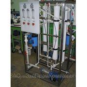 Мембранные установки очистки воды (обратный осмос) ультрафильтрация фото