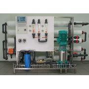 Установка обратнооосмотической фильтрации тип УОФ-2000, производительностью 2-2,5 м3/час фото