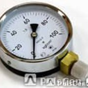 Манометр электроконтактный ДВ2005ф от -1 до 0кгс/см2 фото