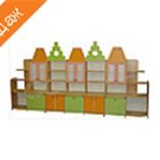 Стеллаж для пособий и игрушек Старый город №234 фото