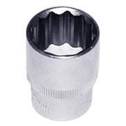 Торцевая головка 1/2DR 12-гр., 8 мм, код товара: 47406, артикул: S04H4908 фото