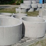Кольцо колодезное КС 15-9 диаметр 1,5м, высота 0,9м фото