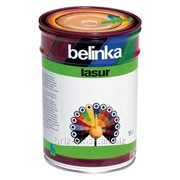 Декоративная краска-лазур Belinka Lasur 1 л. №72 Санториново-синий Артикул 50272 фото
